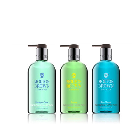 Molton Brown Revive & Restore 300ml Hand Wash Trio