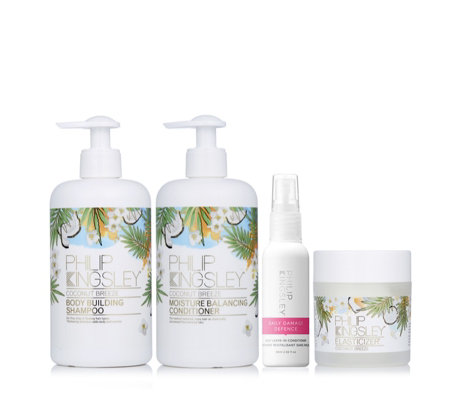 Philip Kingsley 4 Piece Coconut Breeze Hair Collection