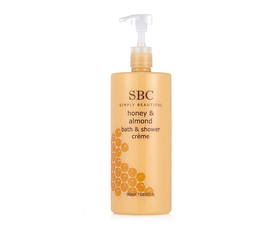 SBC Honey And Almond Shower Creme