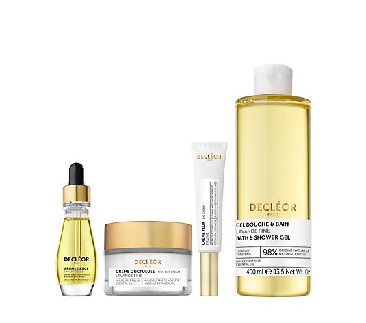 Decleor 4 Piece Lift & Firm Lavender Fine Skincare Collection