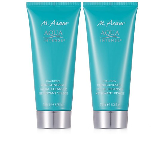 M. Asam Aqua Intense Hyaluron Cleansing Gel 200ml Duo