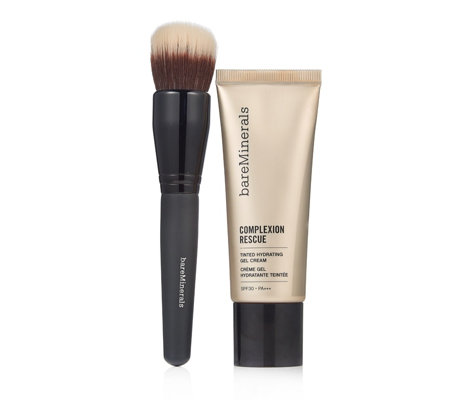 bareMinerals Complexion Rescue SPF 30 35ml & Smoothing Face Brush