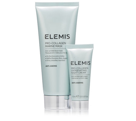 Elemis Pro-Collagen Marine Mask 100ml & Night Cream 15ml