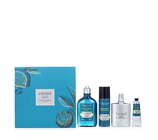L'Occitane Fragrance Bath & Body 4 Piece Collection
