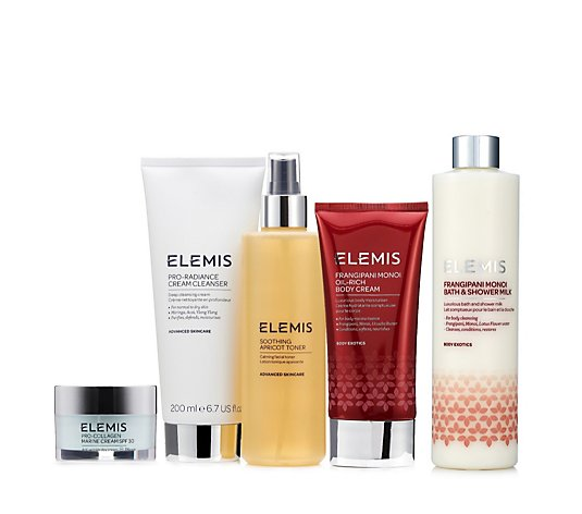 Elemis 5 Piece Frangipani Top to Toe Collection