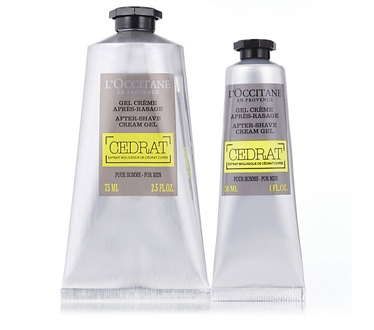 L'Occitane Men's Aftershave Balm Home & Away Duo