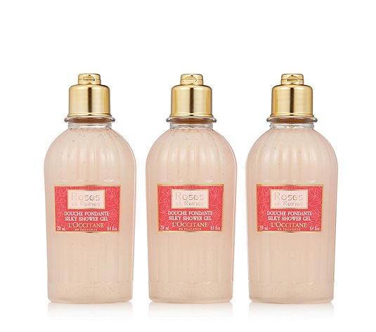 L'Occitane Shower Gel Trio 250ml