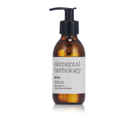 Elemental Herbology Metal Purify Bath & Body Oil 145ml