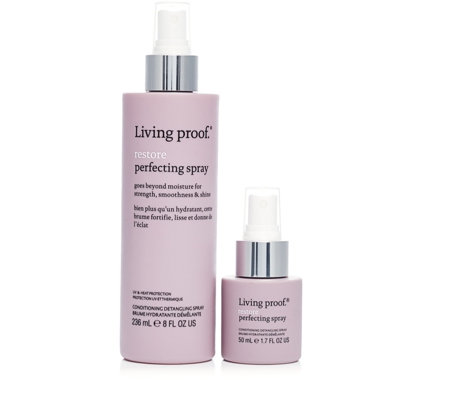 Living Proof Restore Perfecting Spray Home & Away Duo