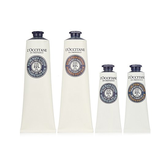 L'Occitane 4 Piece Shea Intense Hand & Foot Collection