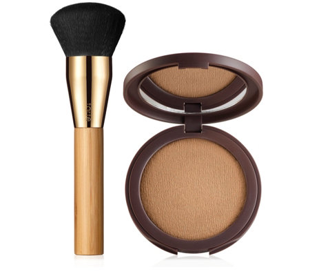 Tarte Smooth Operator Amazonian Clay Tinted Finishing Powder with Brush
