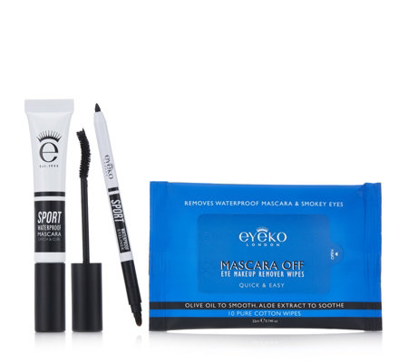 Eyeko 3 Piece Sport Waterproof Mascara Collection