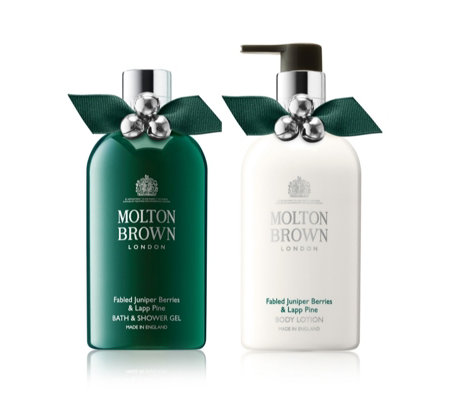 Molton Brown Fabled Juniper Berries & Lapp Pine Body Collection