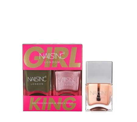 Nails Inc 3 Piece Girl King Collection