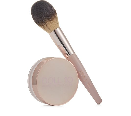Doll 10 Skin Perfecting Treatment Powder With Brush
