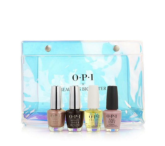 OPI 4 Piece Beauty's Big Sister Collection with Bag