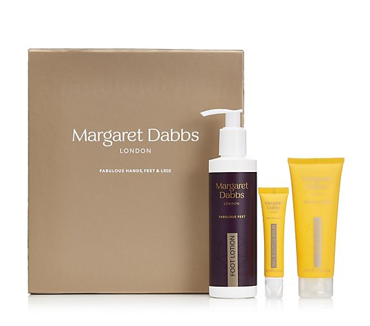 Margaret Dabbs London 3 Piece Festive Hands & Feet Collection