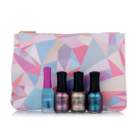 Orly 4 Piece You're a Gem Collection with Bag