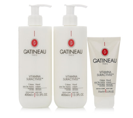 Gatineau 3 Piece Vitamina Hand Cream Collection