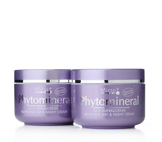 Judith Williams Phytomineral Day & Night Cream 150ml Duo