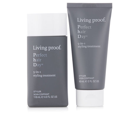 Living Proof PhD 5-In-1 Styling Treatment Home & Away Duo