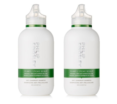 Philip Kingsley Flaky Itchy Scalp Shampoo 250ml Duo