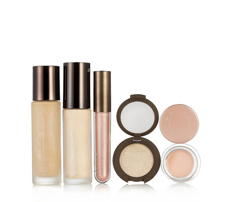Becca 5 Piece Complexion & Glow Cosmetics Collection