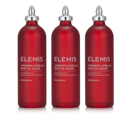 Elemis Japanese Camillia Body Oil Trio