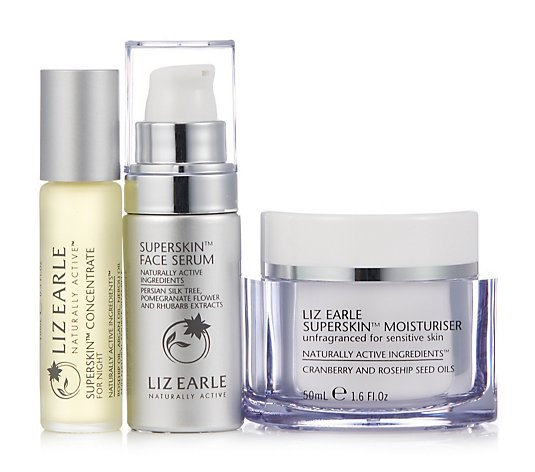 Liz Earle Supercharged Superskin Trio