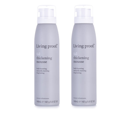 Living Proof Full Thickening Hair Mousse Duo 149ml