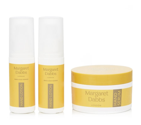 Margaret Dabbs London 3 Piece Anti-Ageing Hand Heroes Collection
