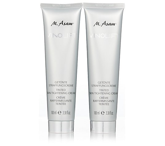M. Asam Vinolift Tinted Skin Tightening Cream 100ml Duo
