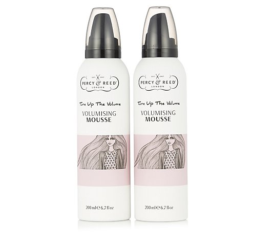 Percy & Reed Bouncy Volumising Mousse Duo 200ml
