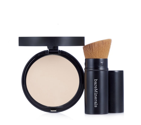 bareMinerals Barepro Performance Wear Powder Foundation & Brush