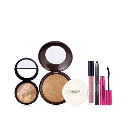 Laura Geller 5 Piece Sun Catcher Make-Up Collection - QVC UK