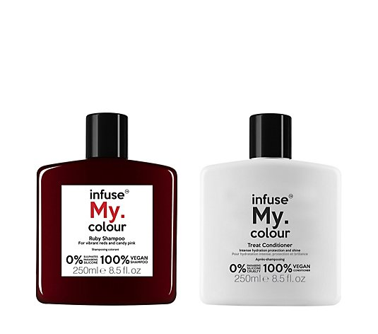 Infuse My Colour Ruby Shampoo And Conditioner