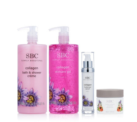 SBC 4 Piece Collagen Skincare Collection