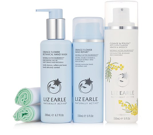 Liz Earle Botanically Powered Face & Hand Collection