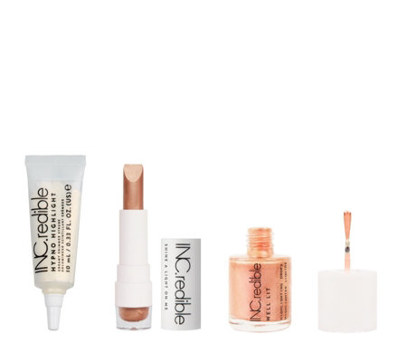 INC.redible 3 Piece Gold & Glow Collection