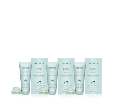 Liz Earle Cleanse & Polish 100ml Trio