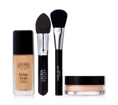 Laura Geller 4 Piece Complexion Perfecting Collection