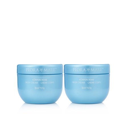 Flora Mare Body Cream 300ml Duo