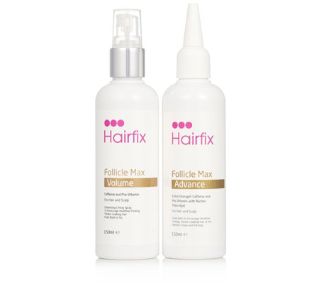 Hairfix 2 Piece Supersize Follicle Max Advance Volume Collection