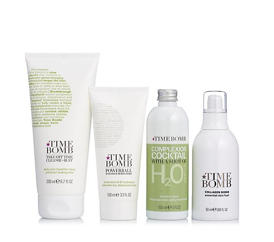 Lulu's Time Bomb 4 Piece Supersize Skincare Collection