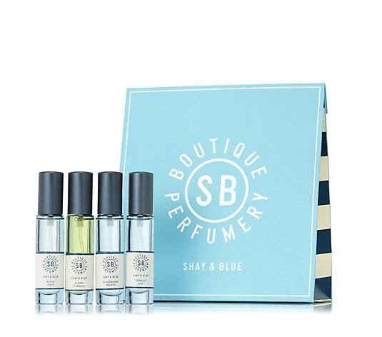 Shay & Blue 4 Piece Fragrance Collection