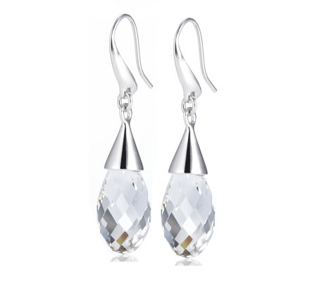 Aurora Swarovski Crystal Briolette Drop Earrings