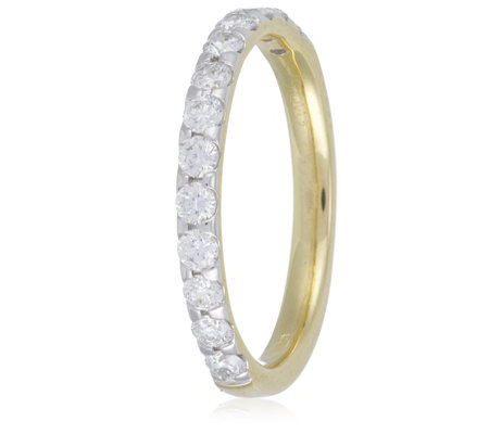0.50ct Certified VS Diamond Eternity Ring 9ct Gold