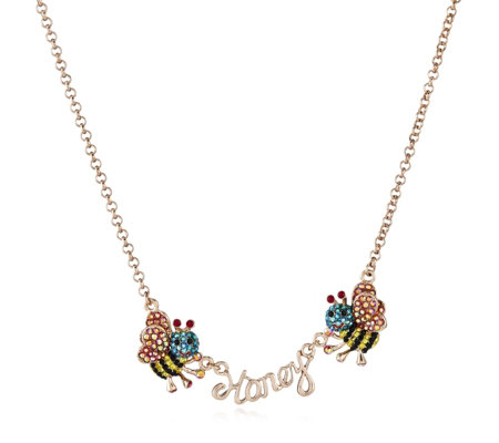 Butler & Wilson Honey Bee 42cm Necklace