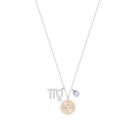 Swarovski Zodiac and Birthstone 38cm Necklace