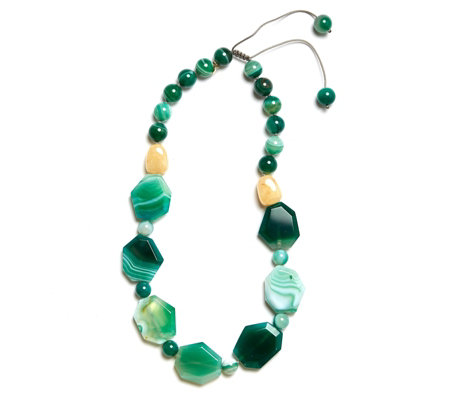 Lola Rose Jani Semi Precious 50cm Necklace